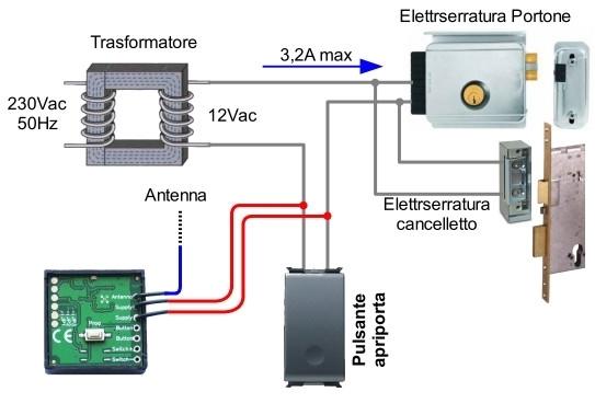 Trasformatore 12v per serratura elettrica prezzi - Citofono per casa prezzi ...